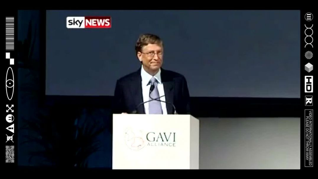 (EMB) FOOD FOR THOUGHT - SHILL GATES PREPARING MASTERPLAN @ GAVI 2011 (THE WORLD IS A STAGE)
