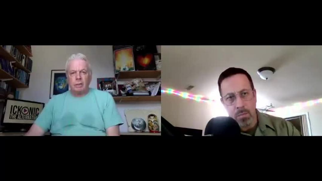 David Icke Speaks To Johnny Cirucci - Compromise Is Consent.