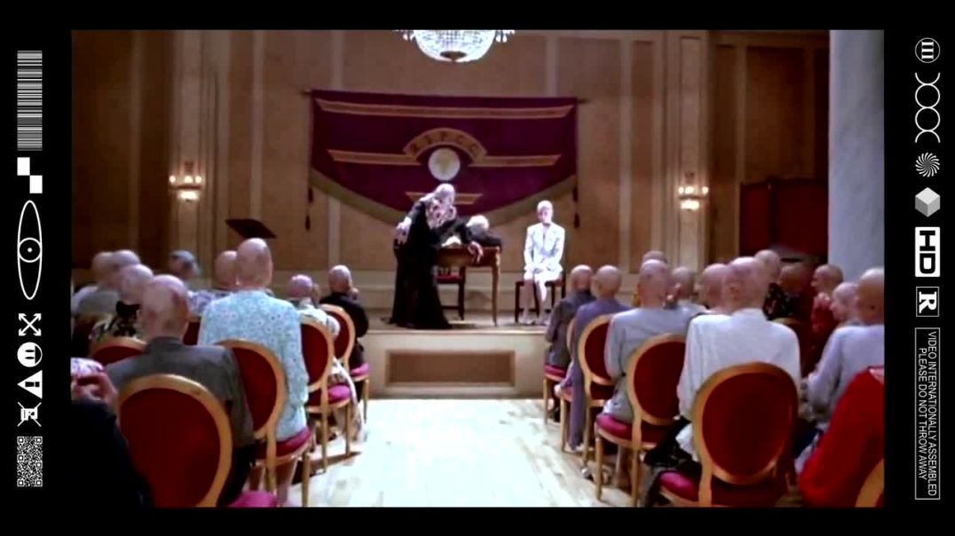 (EMB) FOOD FOR THOUGHT - THE GRAND HIGH WITCH - 33RD DEGREE MASONIC LODGE (FILMCLIP FLASHBACK)