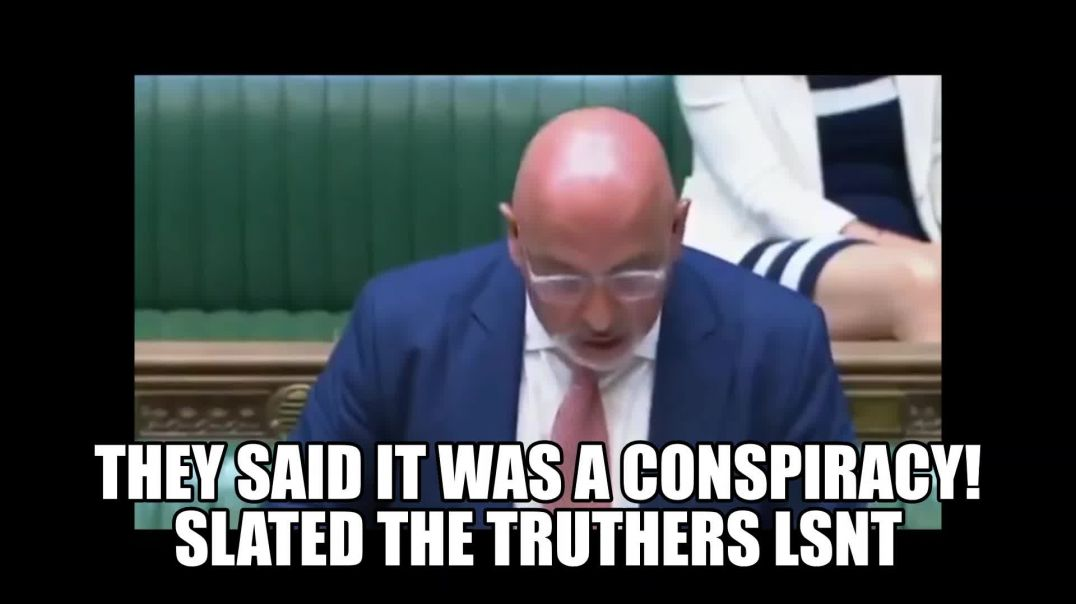 New World Order Martial Law United Kingdom ZAHAWI IS PREPPING YOU! SEE NOTES