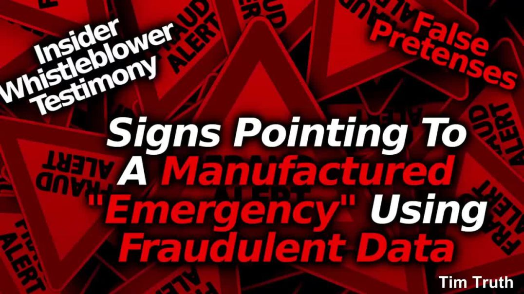 Manufactured Crisis Utilized For HealthNazi Takeover Using Health Emergency Powers Faked Rigged Data