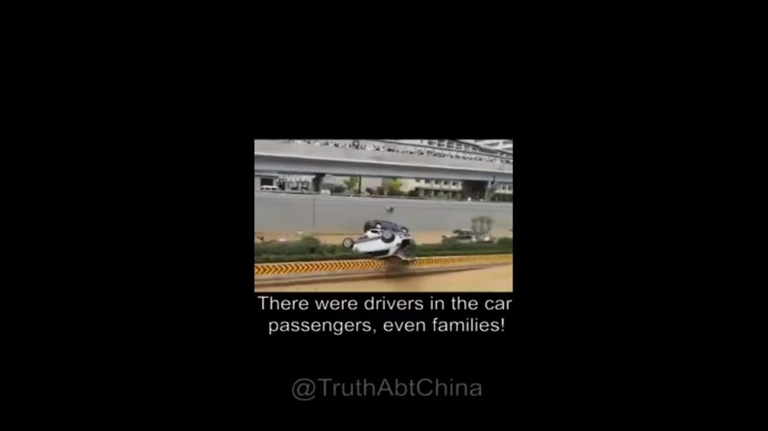 6300 Dead In Tunnel Flood CHINA