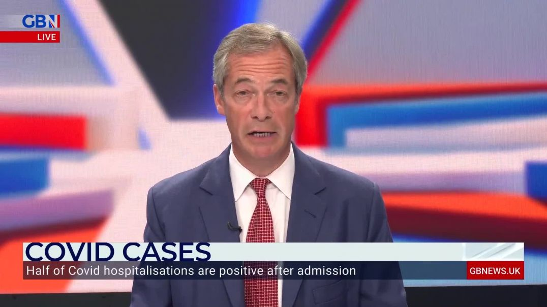 Nigel Farage: We could be 'greatly over-inflating the number of Covid hospitalisations'(1080p50fps)