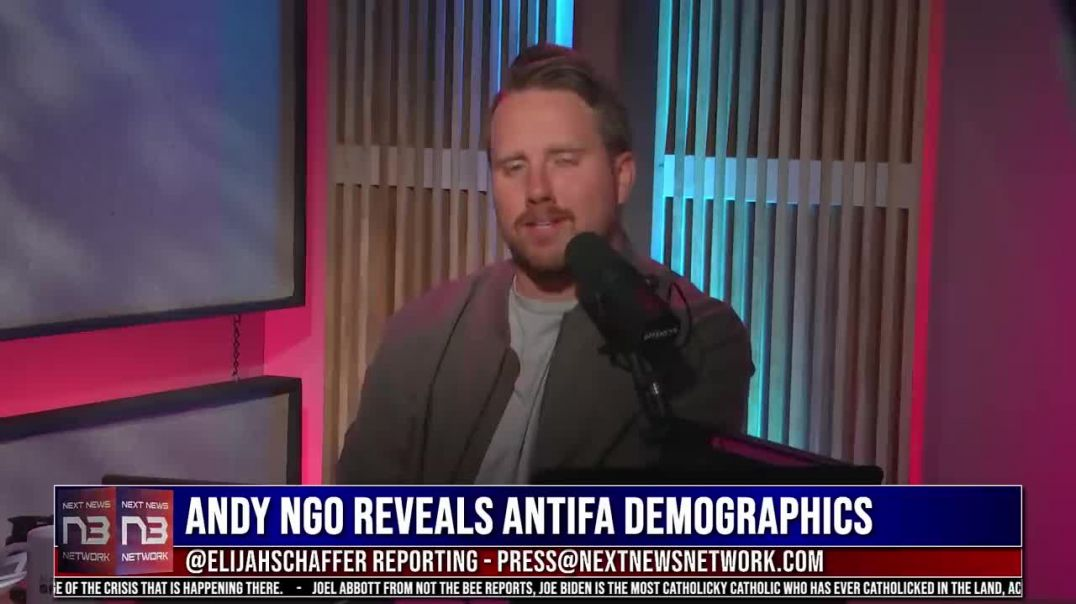BOOM! Andy Ngo EXPOSES Who's in Antifa and it is SHOCKING_HD