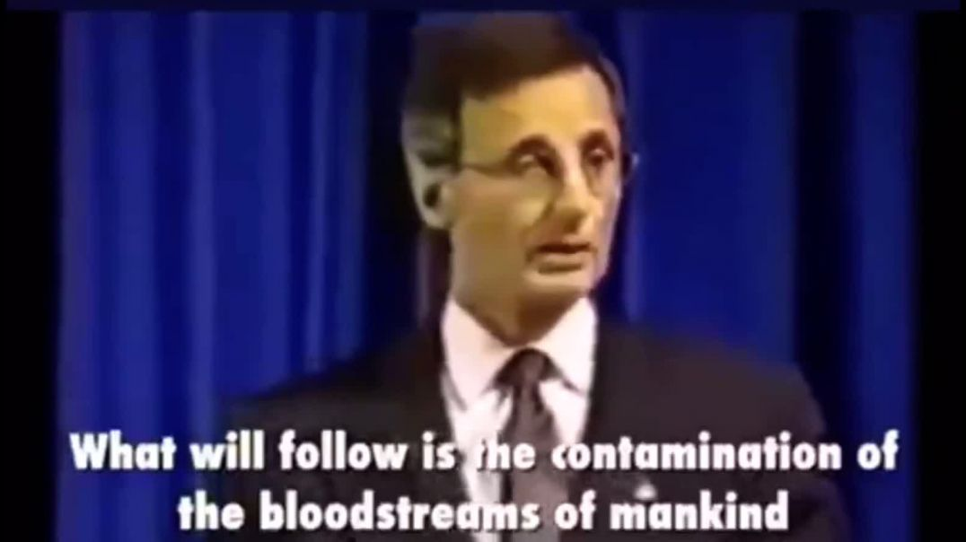Dr Pierre Gilbert 1995 speaking about Magnetic Vaccines
