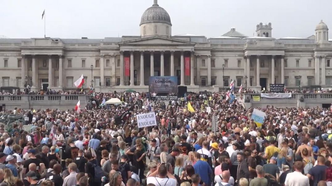 London Freedom Protest World Wide Rally For Freedom 24th July 2021 music Brian Frank