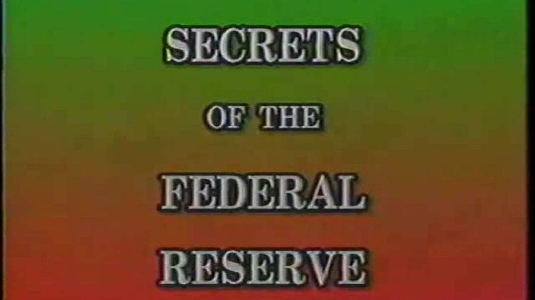 Eustace Mullins (1923-2010) discusses his best-selling book, The Secrets of the Federal Reserve