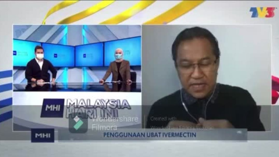 Malaysian Dr speaks out against the vaccine live on air!