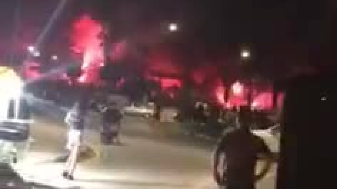 Cypriots fire rockets at the Presidential Palace after police turn violent at protests over Freedom