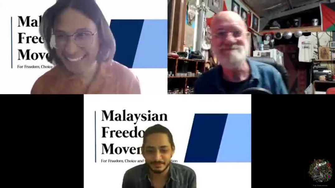 Max Igan - Malaysian Freedom Movement Interview - July 2021
