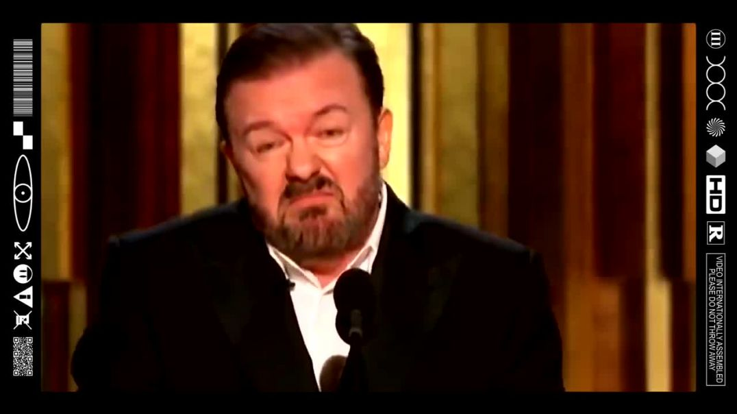 (EMB).FOOD FOR THOUGHT - RICKY GERVAIS CUTS TO THE CHASE @ THE GOLDEN GLOBES - END GAME (2020)