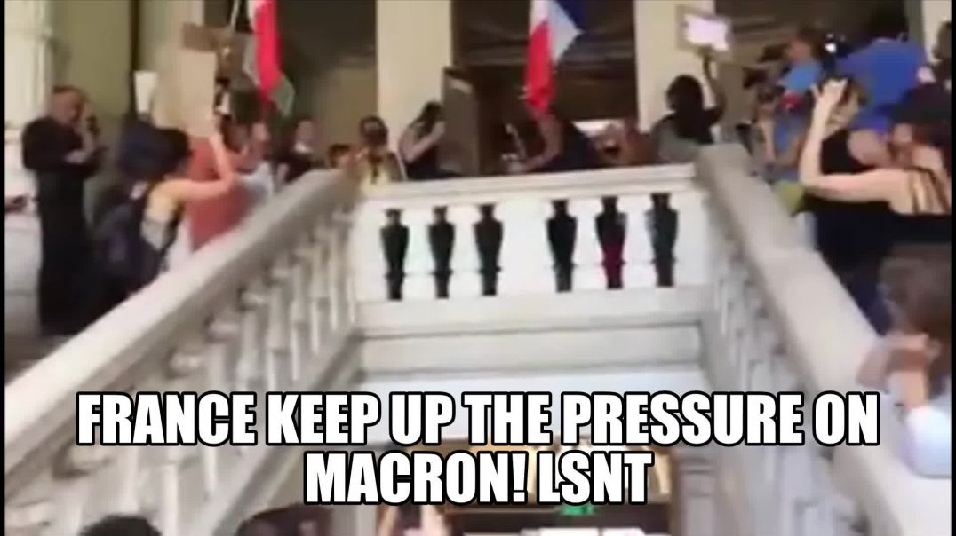 France Keeps Up The Pressure On Macron! FRANCE WILL NOT LAY DOWN