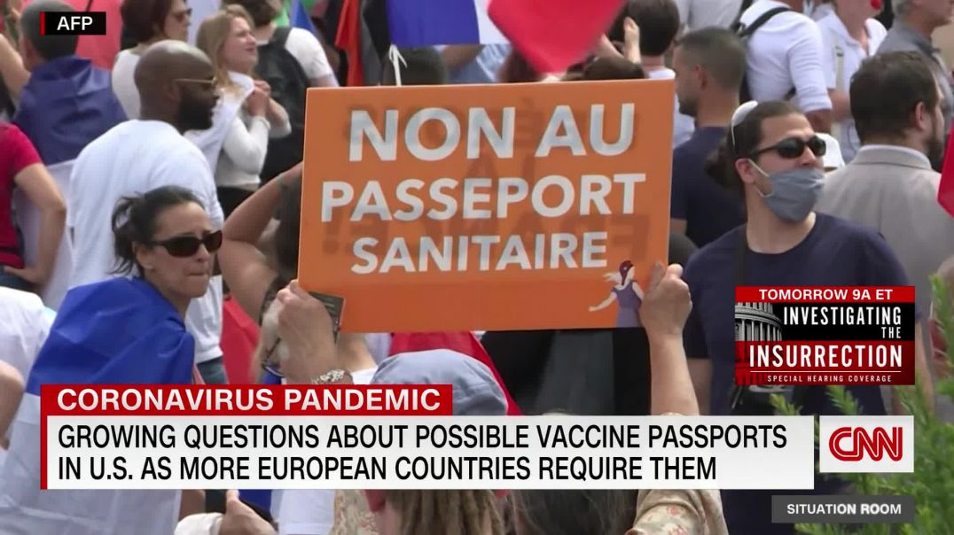 Vaccine passports - WE (the NWO) can't just ALLOW the UN-JABBED to go WHEN and WHERE they WANT!