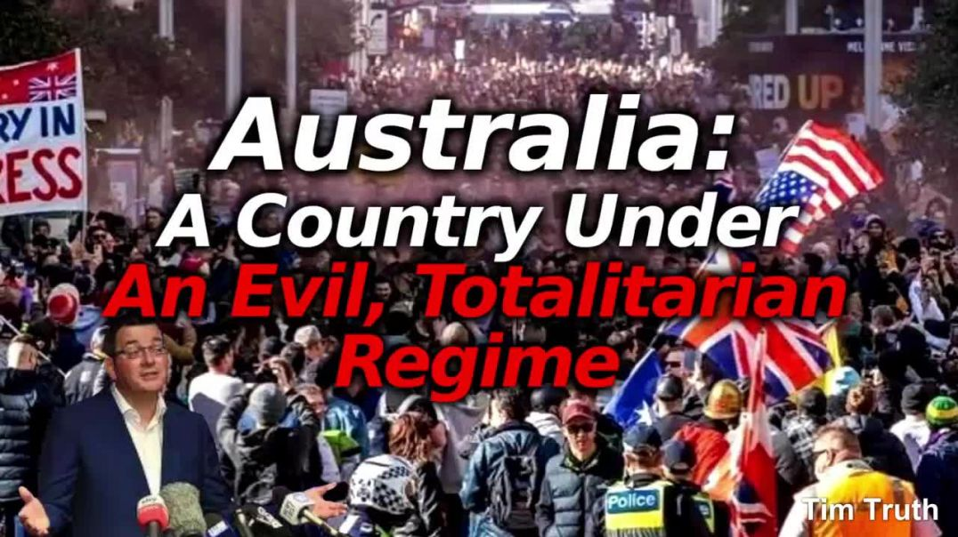 Australians UNDER ATTACK By Govt Protestors Hunted Down With Snitches & CCTV To Give Fin