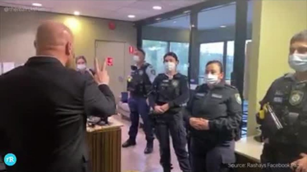 Aussie Police Terrorise Business Owner Over Muzzles.