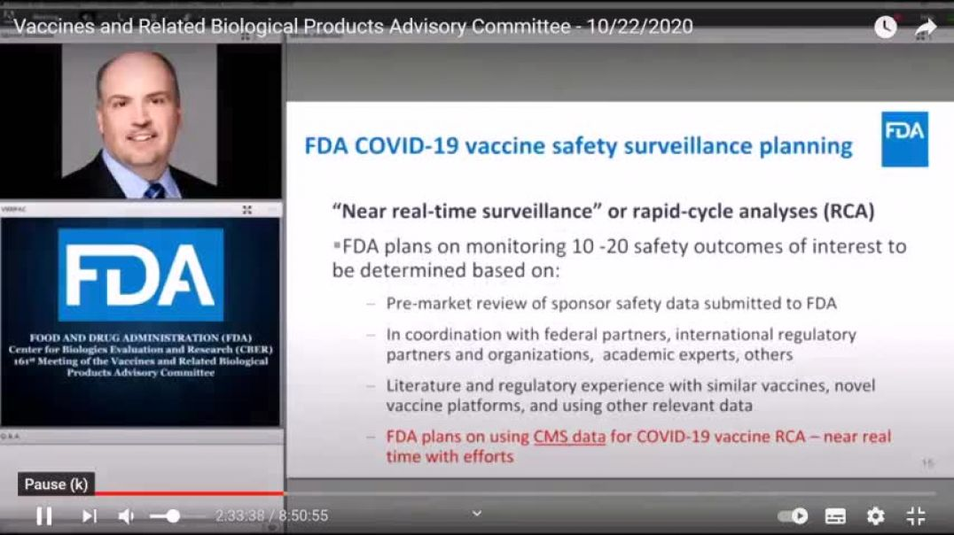 """""""BOMBSHELL"""" Evidence Shows FDA Knew Of """"Vax"""" Reactions Since October 2020"""