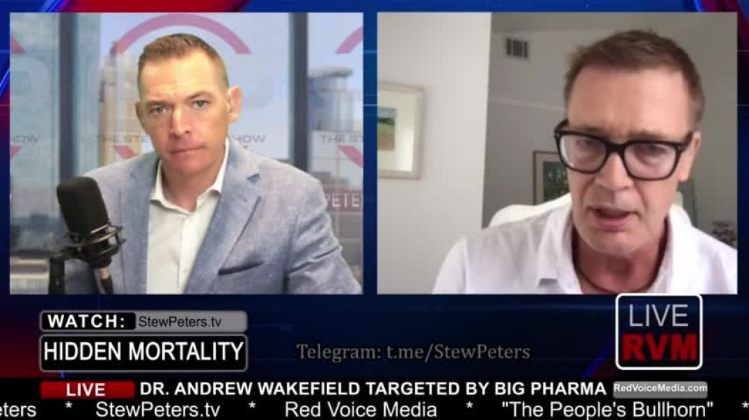 Dr. Andy Wakefield | Fauci Should Be Held Up For Treason - July 27, 2021