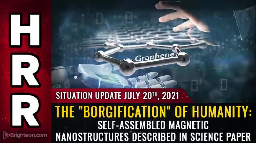 """SITUATION UPDATE, JULY 20TH, 2021 - THE """"BORGIFICATION"""" OF HUMANITY"""
