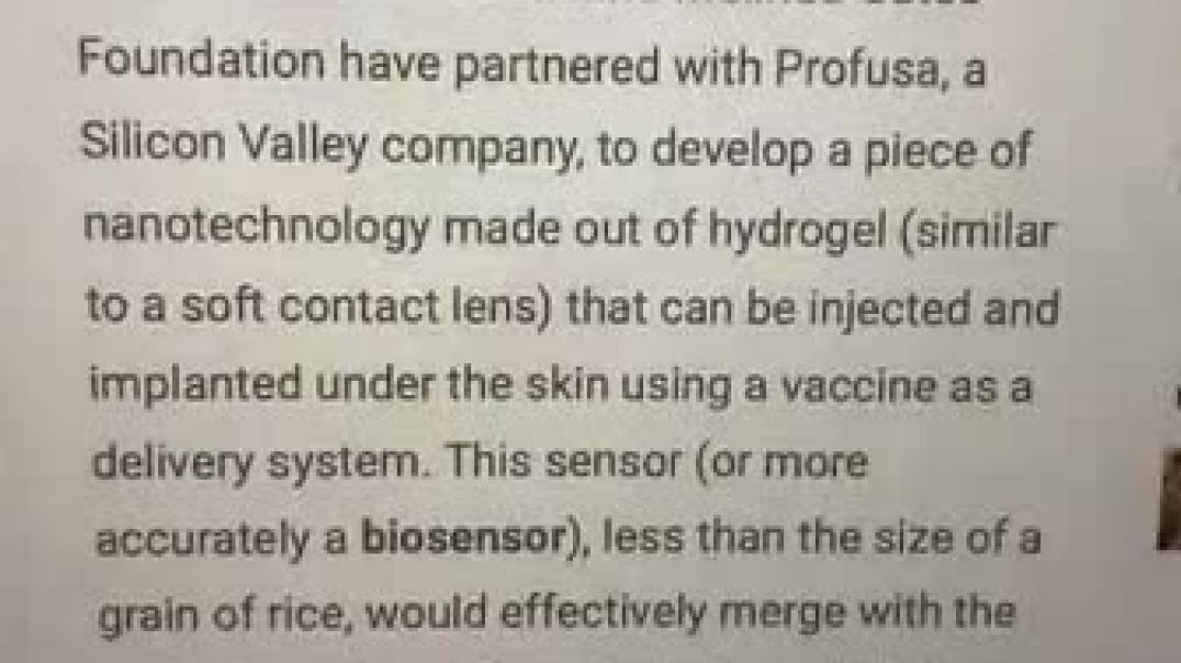 Hyrogel Biosensor Implantable Nanotech To be Used In Covid Vaccines