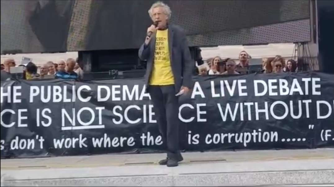 Piers Corbyn's Speech At The London Freedom Protest 24th July 2021