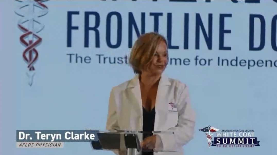 Teryn Clarke WHITE COAT SUMMIT The One Year Anniversary AFLDS Dr