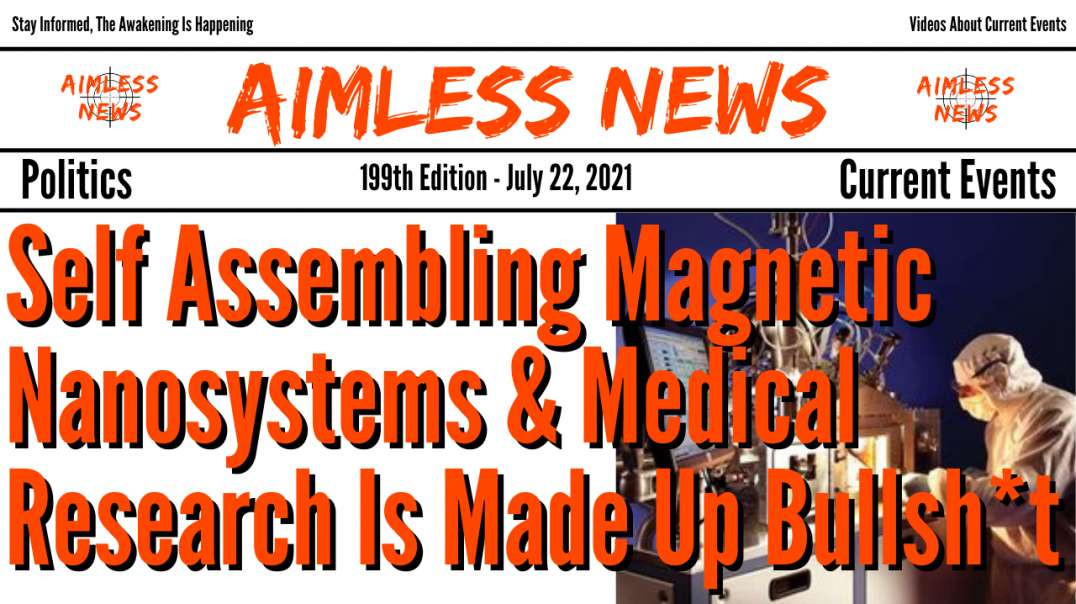 Graphene In The Vaxx Is A Self Assembling Magnetic Nanosystem & Medical Research Is Made Up Bull