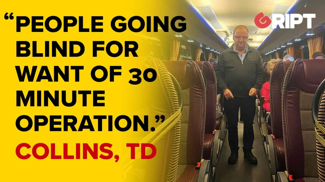 """Micheal Collins, TD: """"Medical Discrimination"""" """"people going blind for want of 30 minute operation."""""""