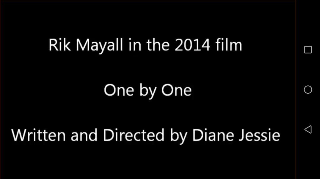 Rik Mayall In 2014 Movie One By One.
