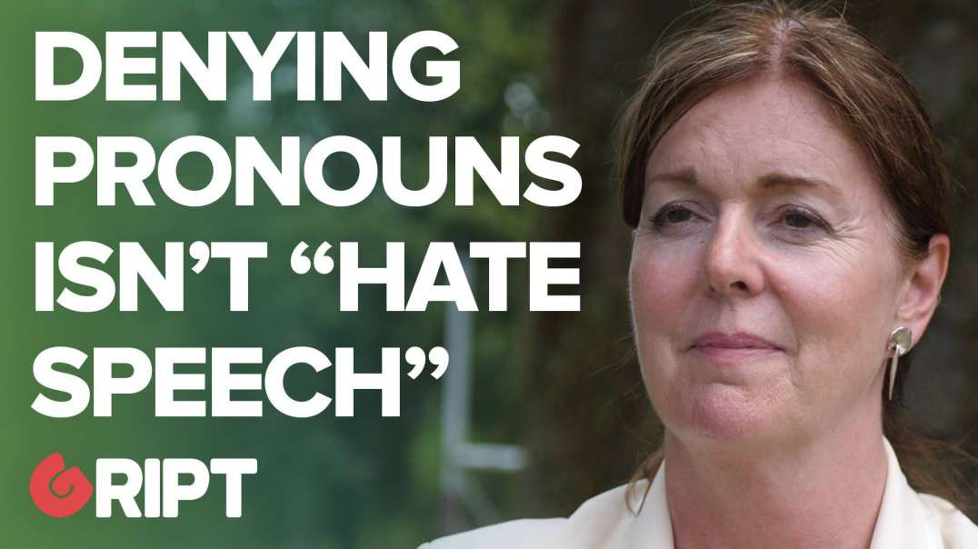 """Refusing to use trans pronouns """"not a hate crime"""" 