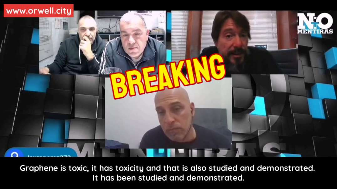 Dr. Luis Marcelo Martínez talks about the toxicity of graphene and scientific literature with false