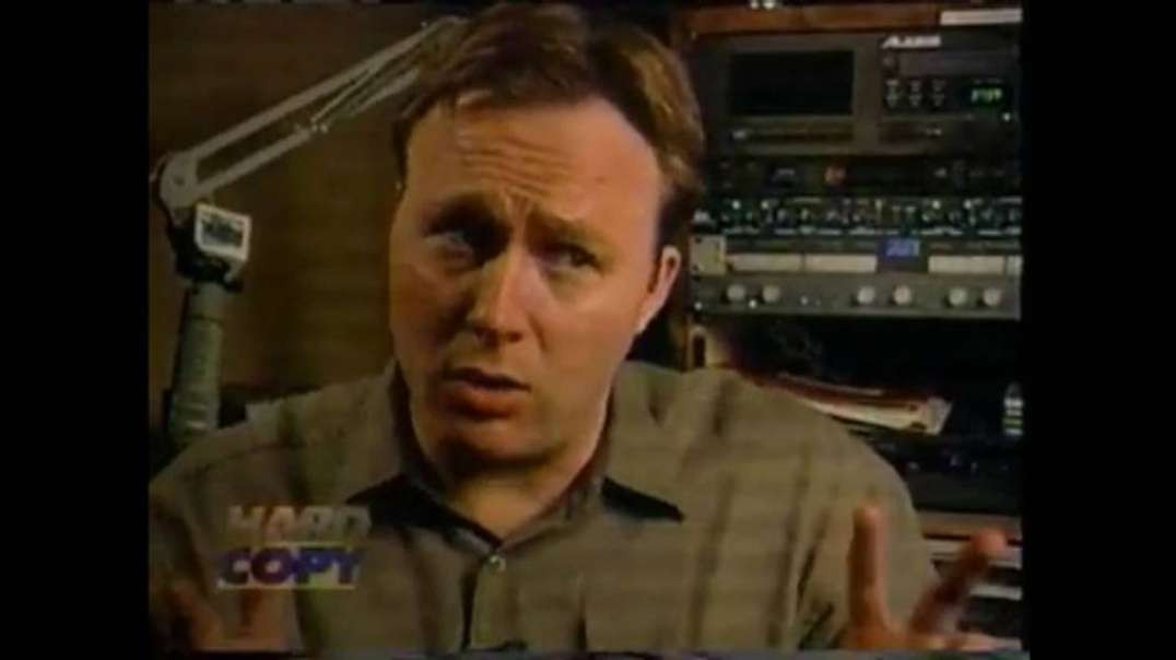 Alex Jones Exposes CPS Baby Kidnapping Operations(Classic Black Helicopters-Black Ski Mask)