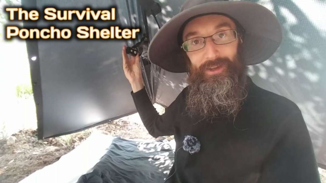 The Survival Poncho Shelter