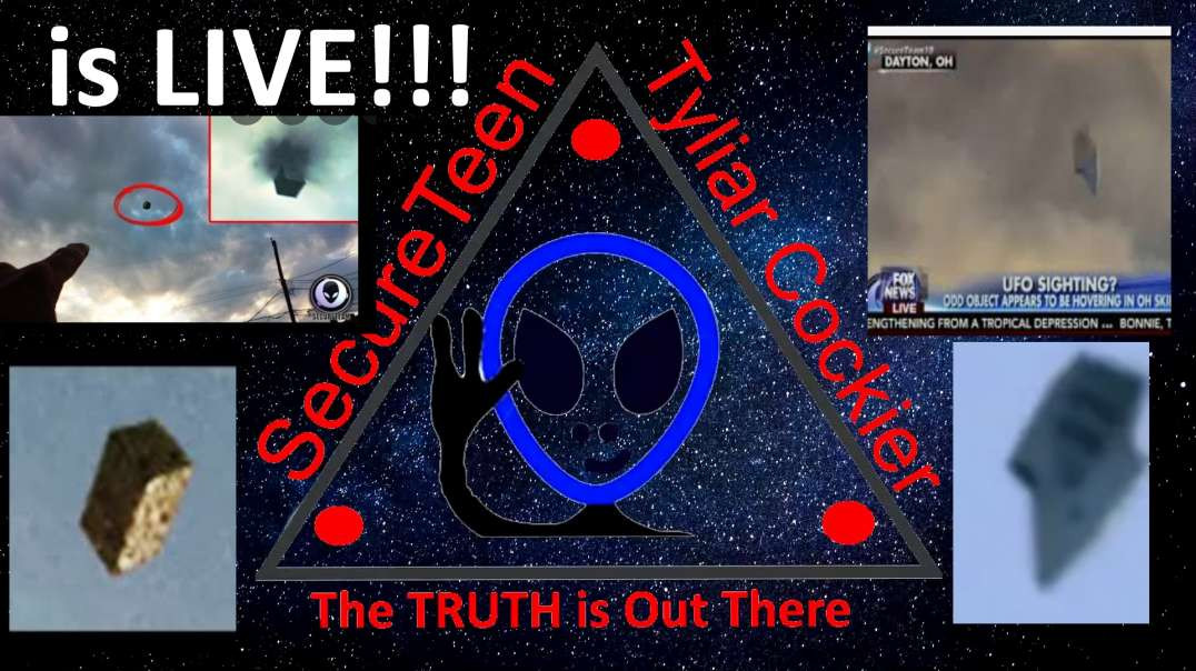 UFO vids with Mr Grey and Tyliar - OT Chan Live 426 Tylers Faked UFOs and TPOM