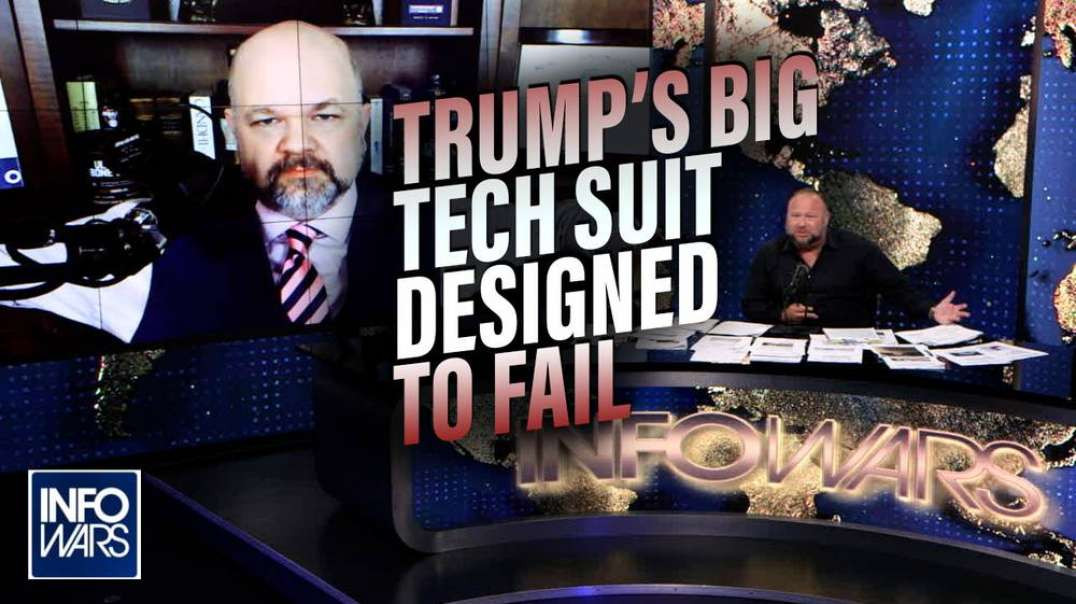 Respected Lawyer: Trump's Big Tech Suit Designed to Fail