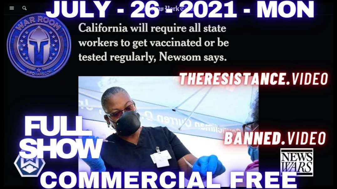 Democrats Call For Arrest And Forced Hospitalization Of Unvaccinated Americans