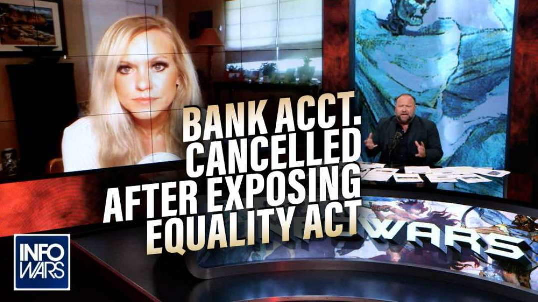 Lauren Witzke Responds to Wells Fargo Bank Account Cancelling After Exposing Equality Act