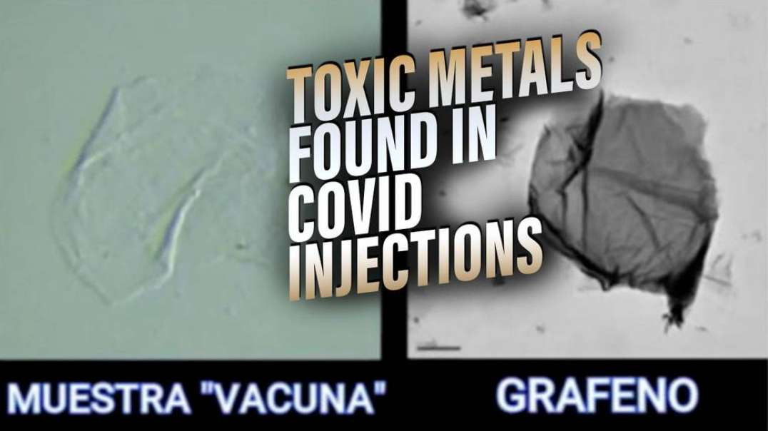 Dr. Jane Ruby Exposes Toxic Metals Found in Covid Injections