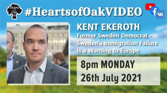 Kent Ekeroth: Sweden Democrat - Sweden's Immigration Failure is a warning to Europe