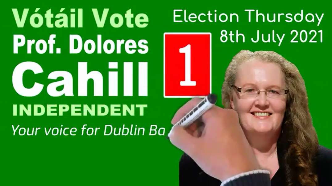I Will Never Be Silent About the Things that Matter - Prof Dolores Cahill
