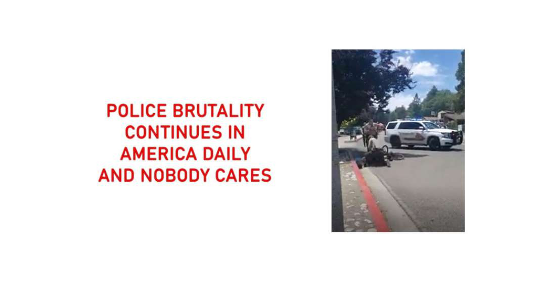 Police Brutality continues in the USA - the American cops don't care who they brutalise or kill