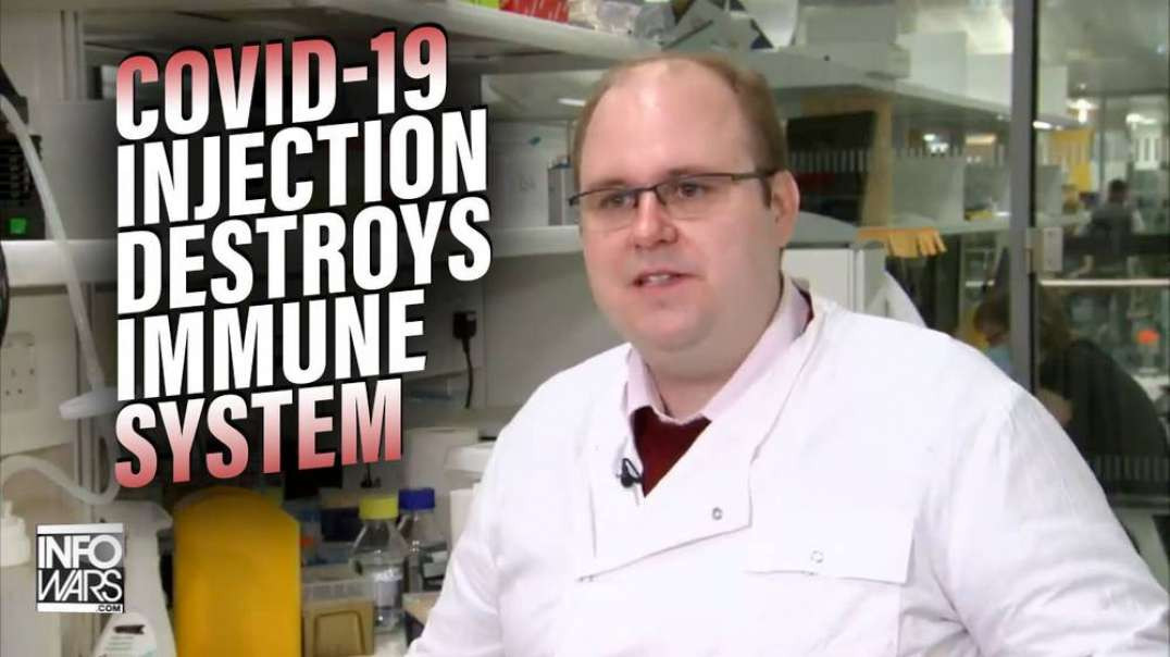 VIDEO: Covid-19 Vaccine Program Director Admits Injection Destroys Immune System