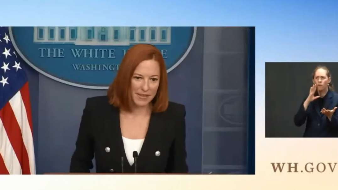 TLAV Jen Psaki Discuses Vaccine Covid-19 Cases And Spreads Medical Misinformation American Vagabond