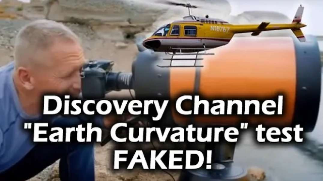 """Why did Discovery Channel FAKE their Helicopter """"Earth Curvature"""" Test? - Just asking!"""