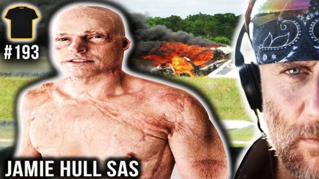 SAS Operator JUMPS From BURNING PLANE | Jamie Hull Special Air Service | Bought The T-Shirt Podcast