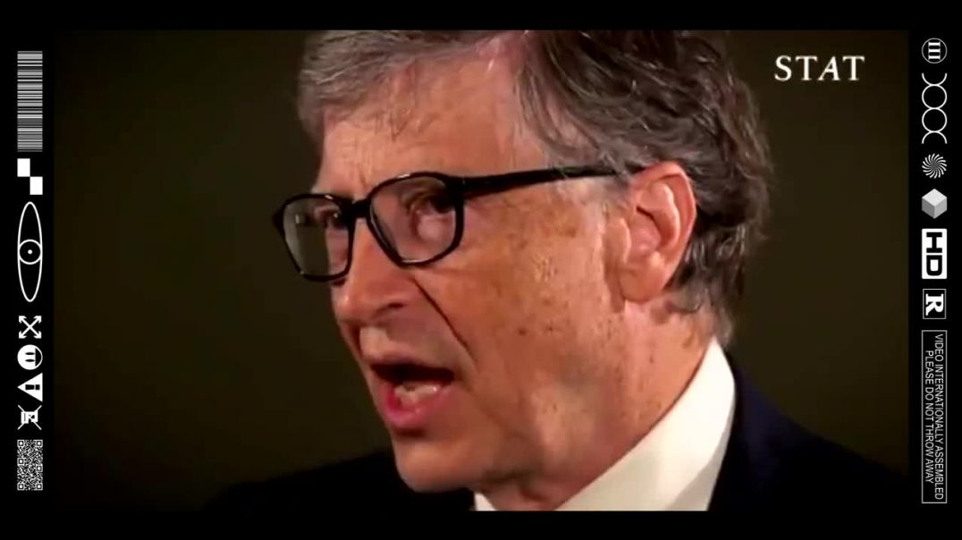 (EMB) FOOD FOR THOUGHT - SHILL GATES PLANTING SEEDS IN THE PUBLICS PSYCHE (THE WORLD IS A STAGE)