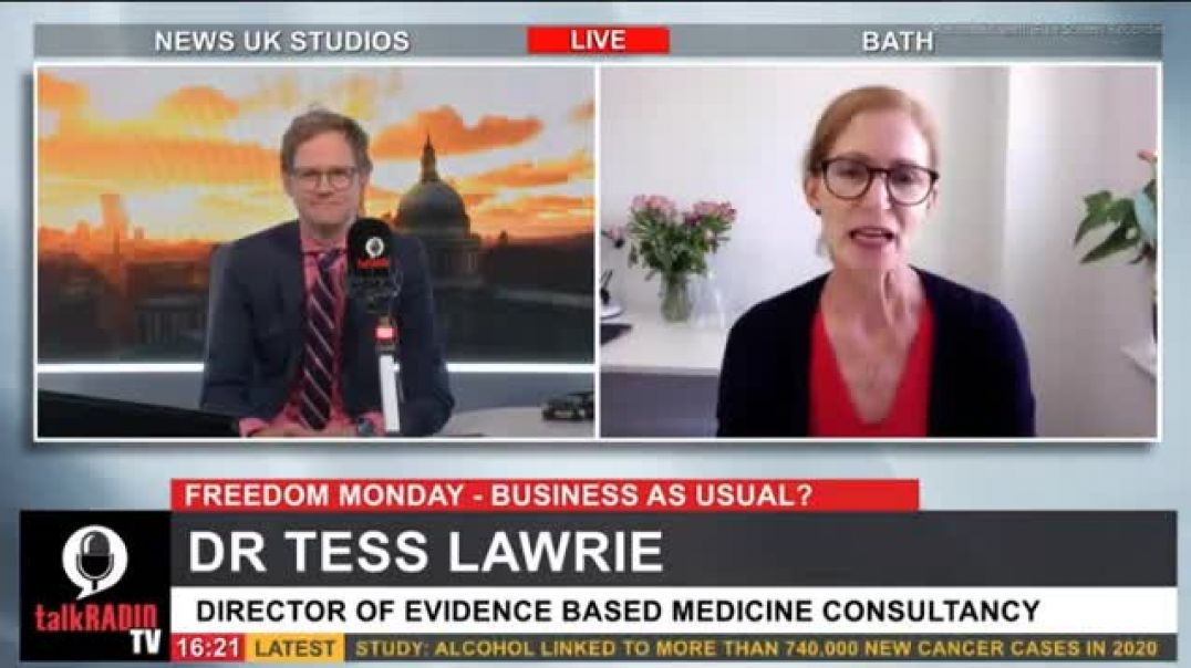 Dr Tess Lawrie Director Of Evidence Based Medicine Blows The Lid Of The Gene Jabs!!