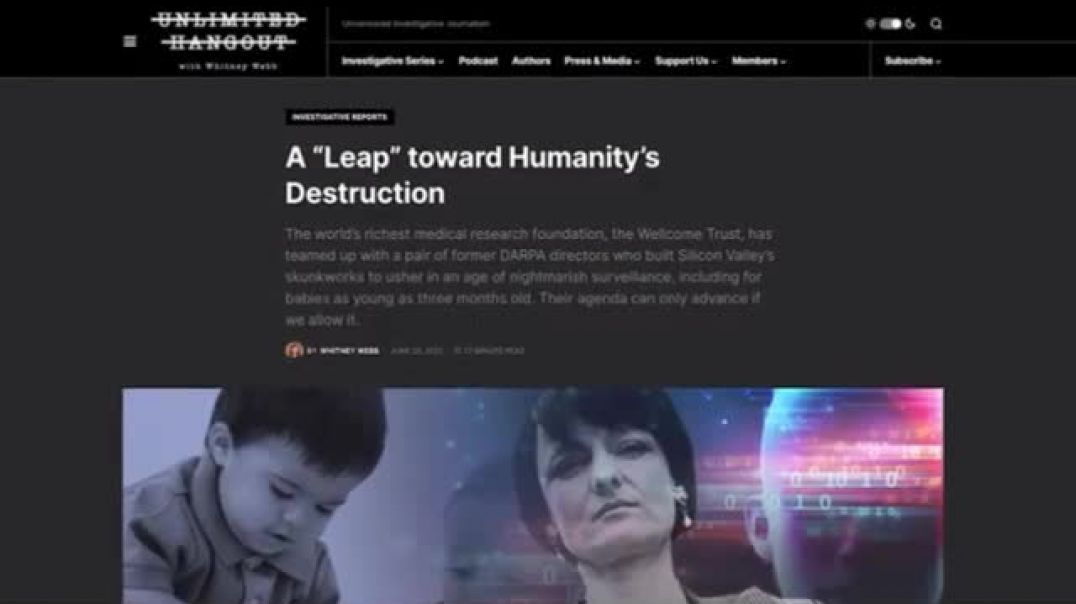 A Leap toward Humanity's Destruction & the evil people behind it