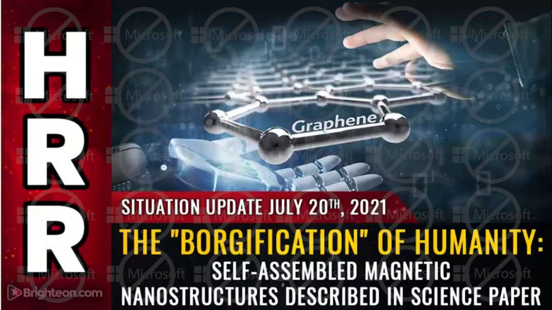 """The """"Borgification"""" of humanity: Self-assembled magnetic nanostructures described in sci*"""