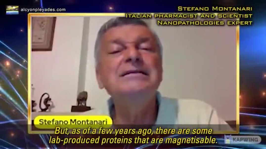 Italian Scientist Expert In Nanoparticles: You Are Branded Like A Cow