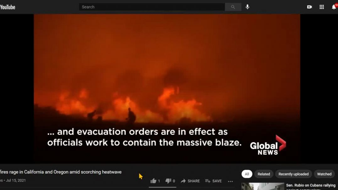 The Wildfires- The West Is A Mess, More Fires, Evacuations, 15/06